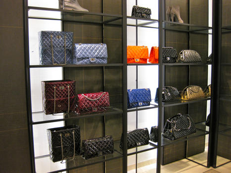 Nordstrom S New Chanel Boutique Includes A Leathergoods Bar Designed By Karl Lagerfeld